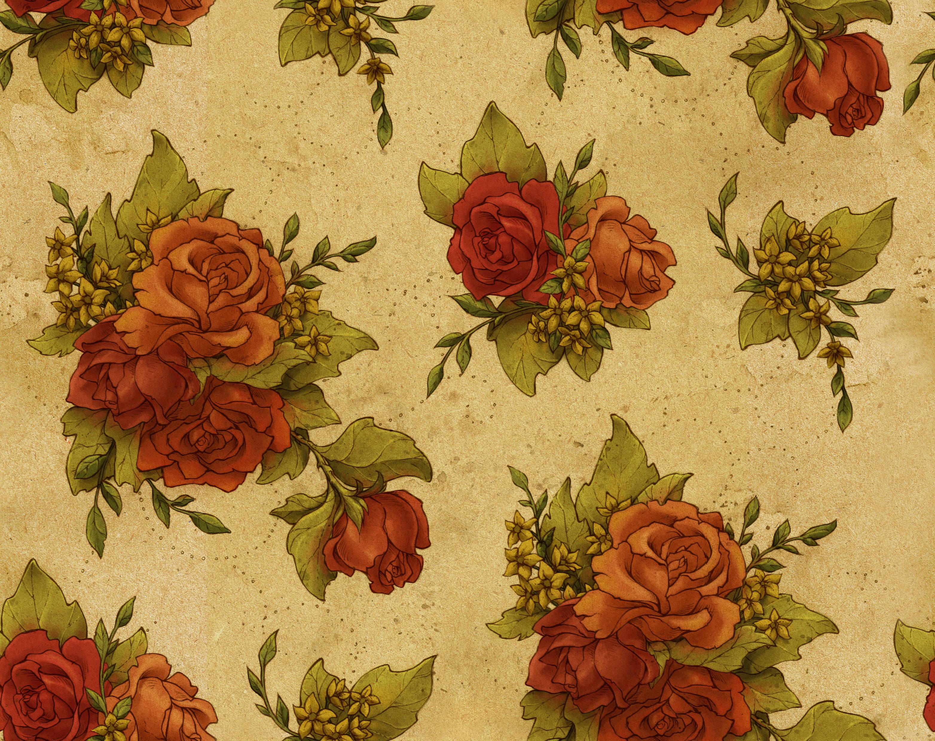 vintage wallpaper graceful