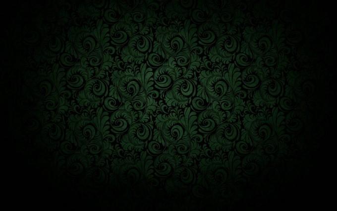 vintage wallpaper green