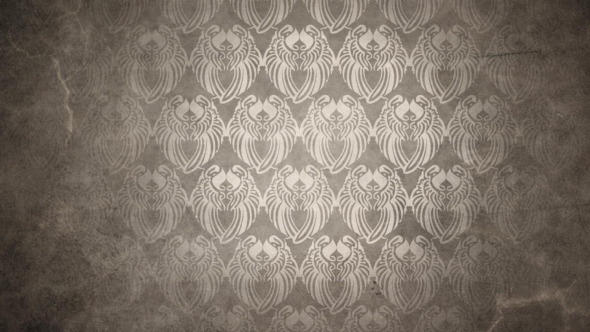 vintage wallpaper pattern 2