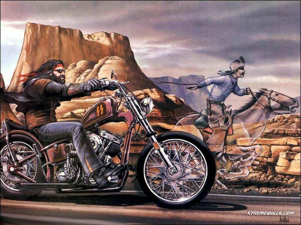 wallpaper harley davidson