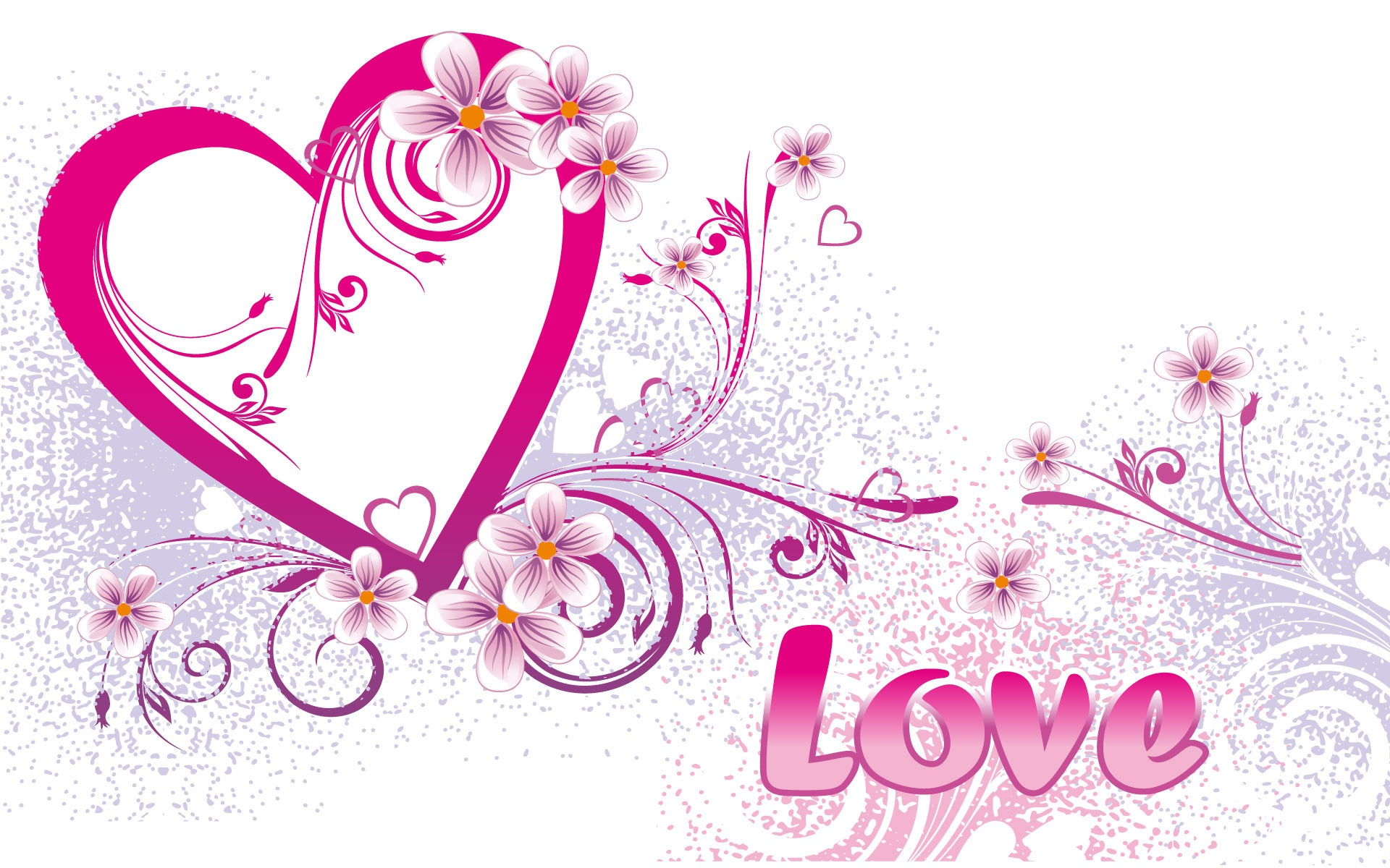 wallpaper love heart