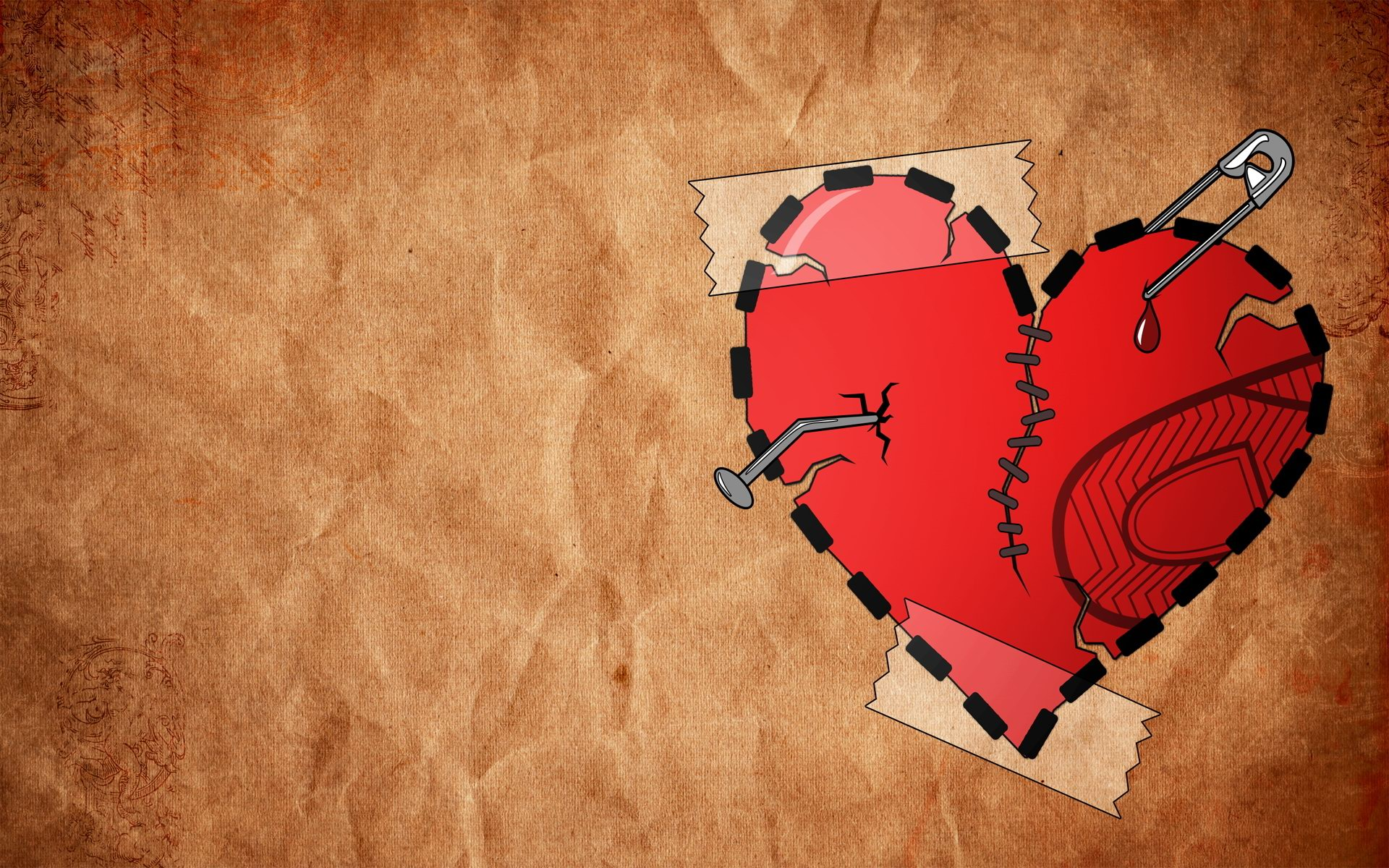 Wallpaper cartoon Love Hurts : wallpaper of love hurts - HD Desktop Wallpapers 4k HD