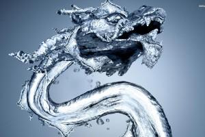 water wallpaper dragon