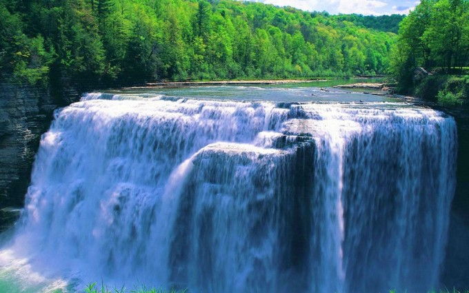 waterfall wallpapers beautiful