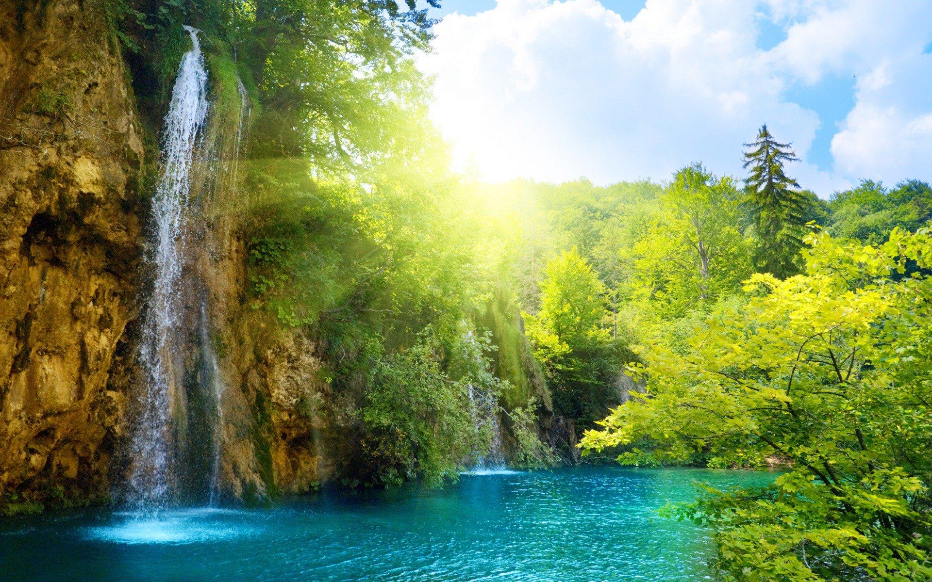 waterfall wallpapers desktop