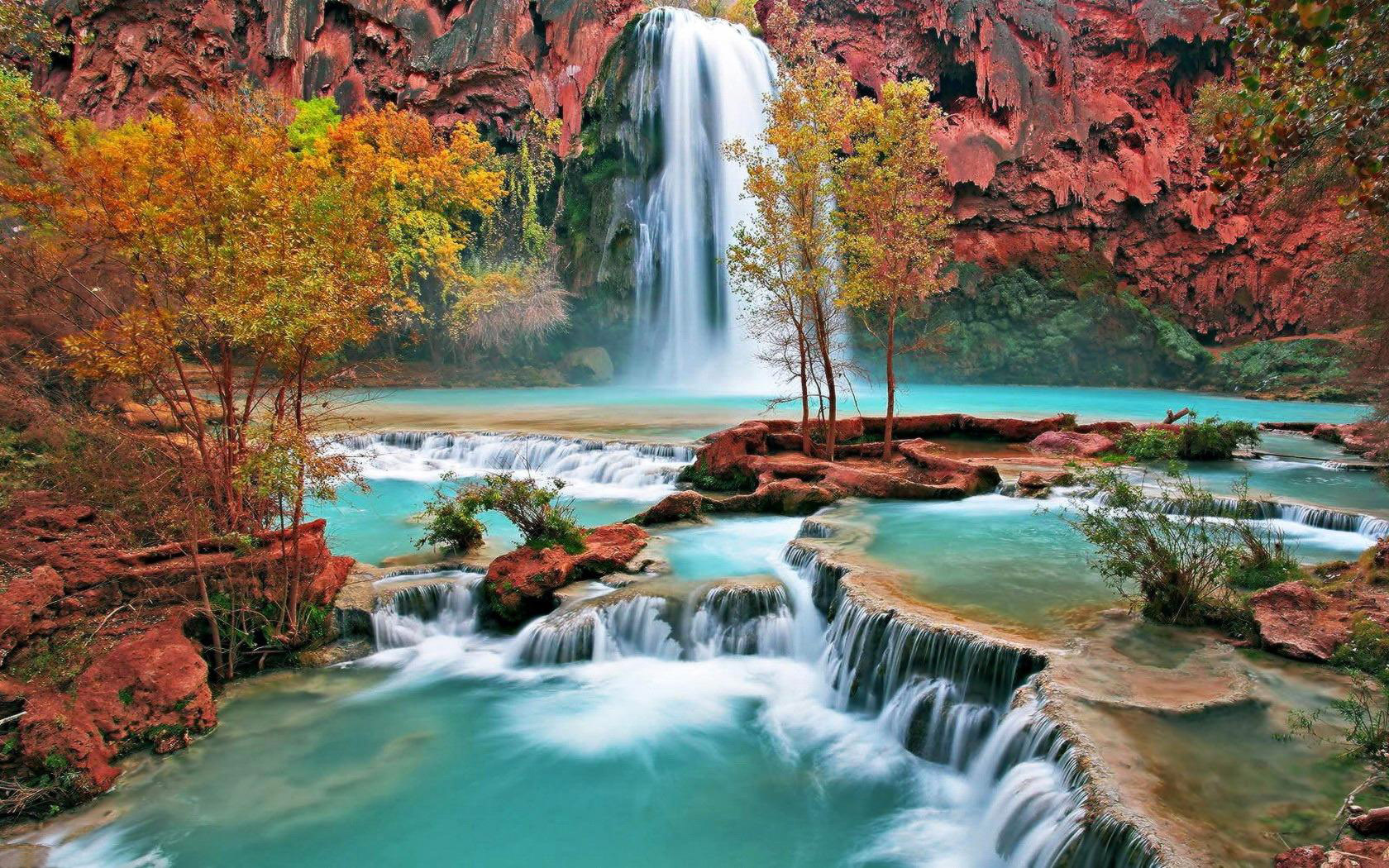 waterfall wallpapers free download