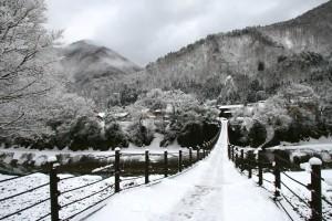 winter wallpapers bridge