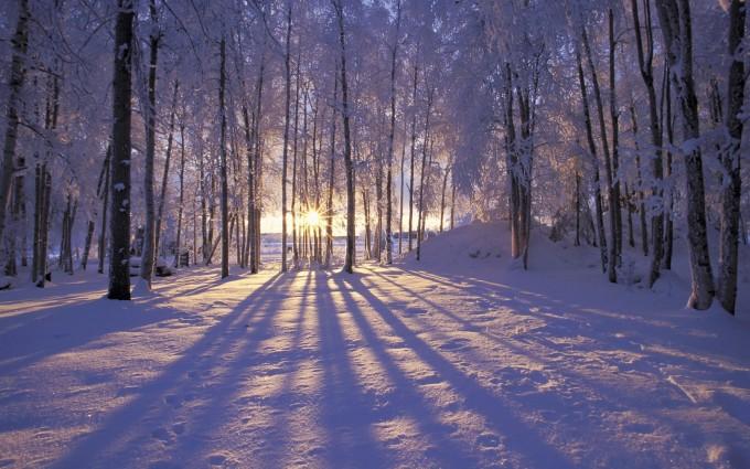 winter wallpapers hd sunrise