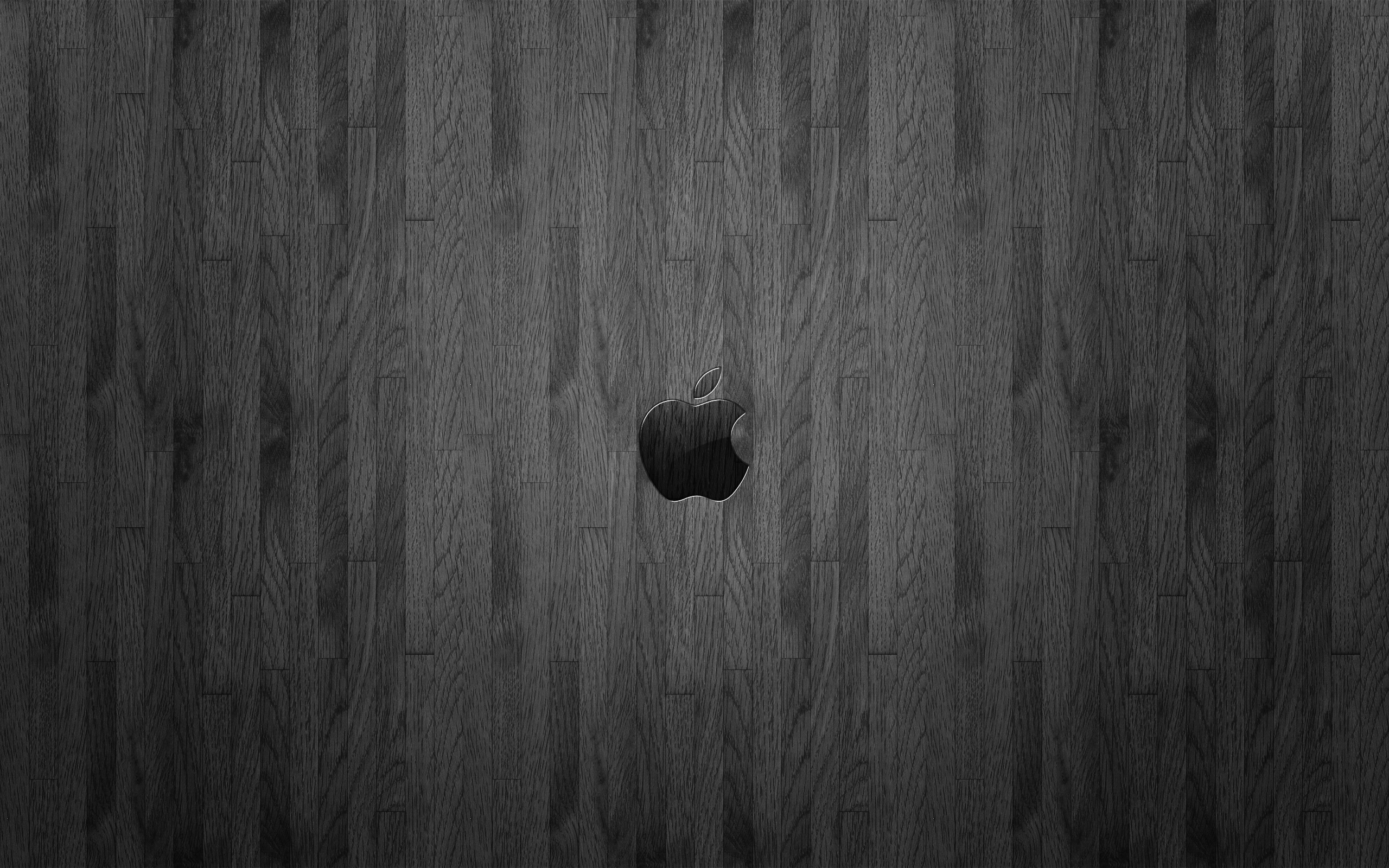 wood wallpaper apple dark