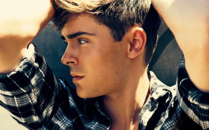 zac efron wallpaper chilling
