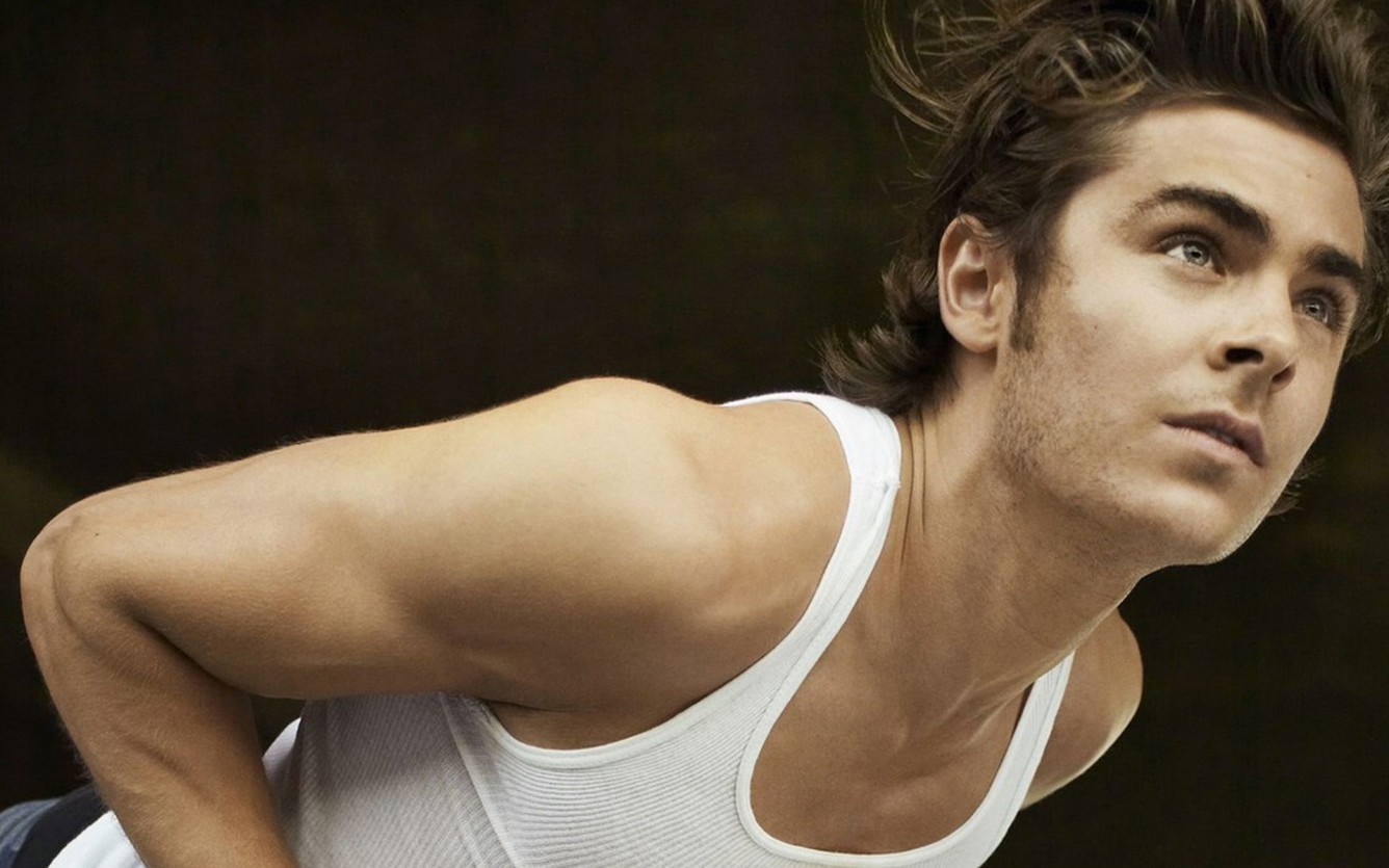 zac efron wallpaper workout