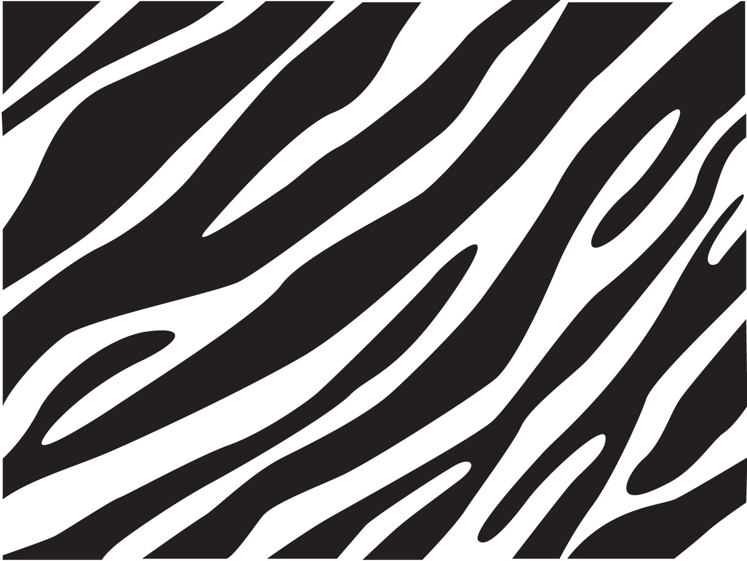 Zebra Patterned Wallpaper - Zebra print wallpaper for walls