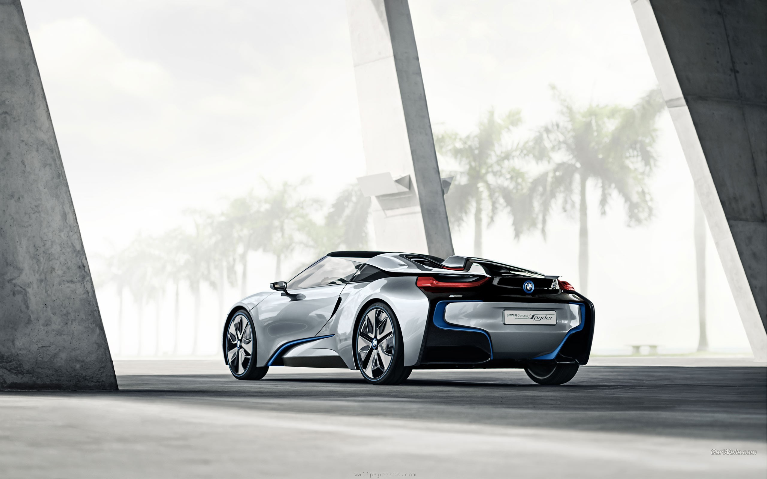 BMW i8 Widescreen Wallpaper