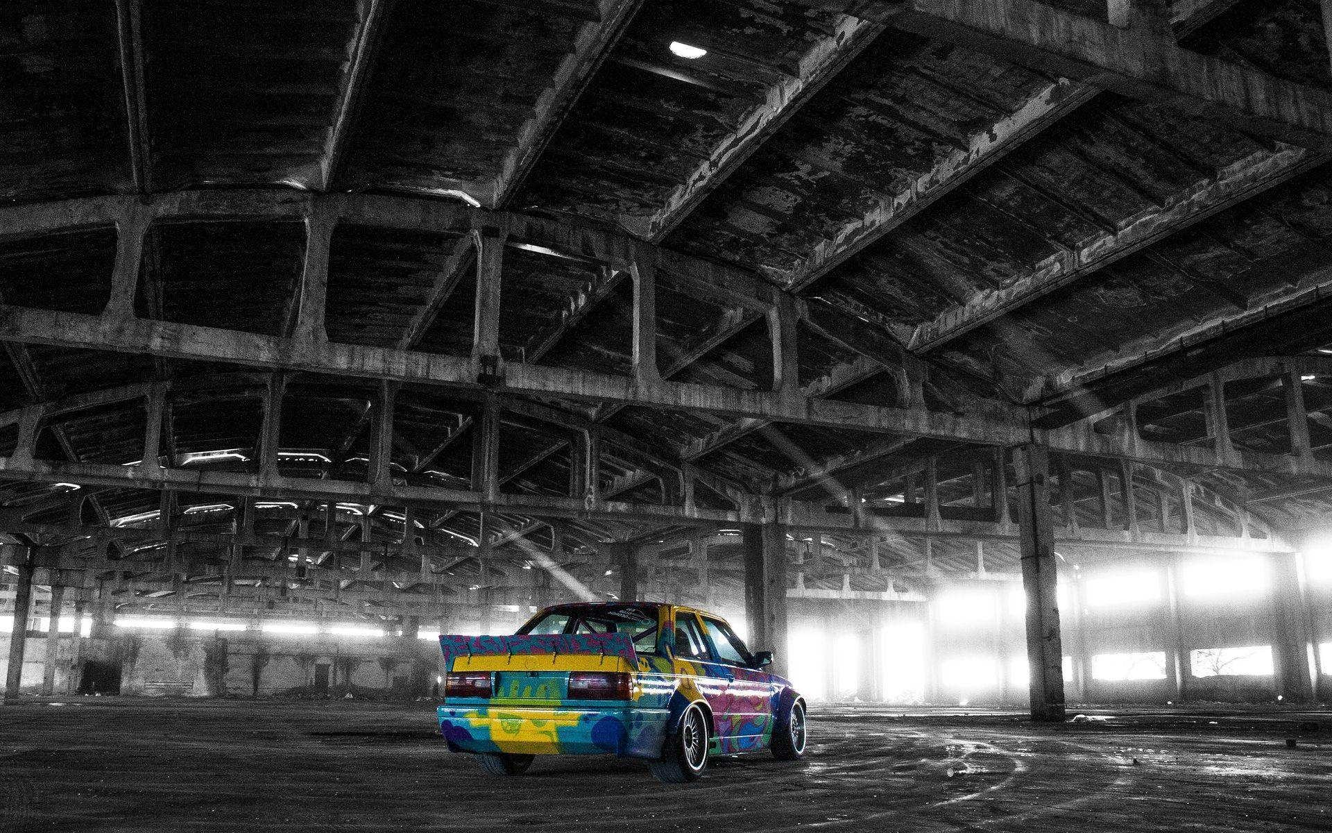 Bmw E30 Colored Wallpaper