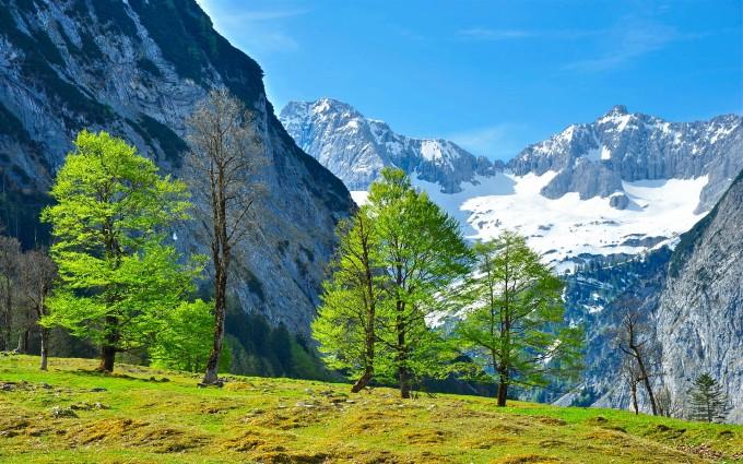 alps wallpaper nature