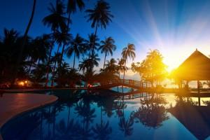 amazing sunset wallpapers resort