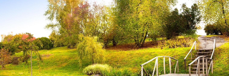 Autumn Countryside Garden Hd Desktop Wallpapers 4k Hd