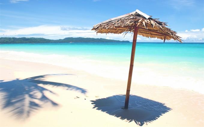 beach bast sunshade