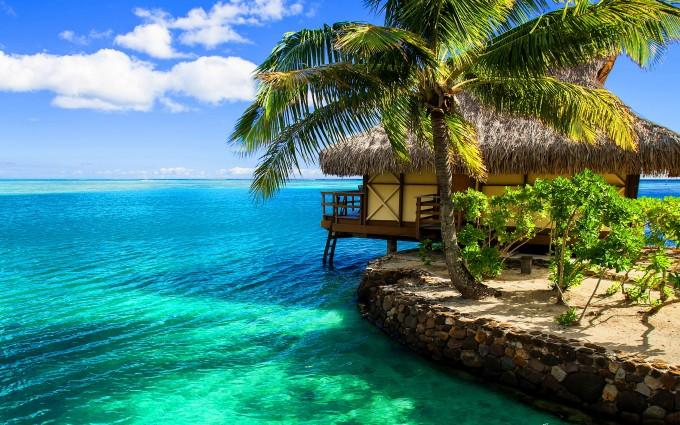 beach bungalow resort