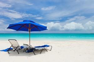 beach chilling relazing