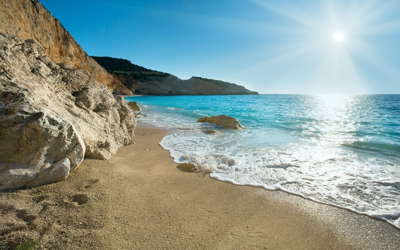 beach greece country