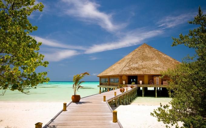 beach resort beautiful