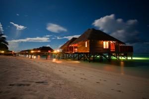 beach resort evening