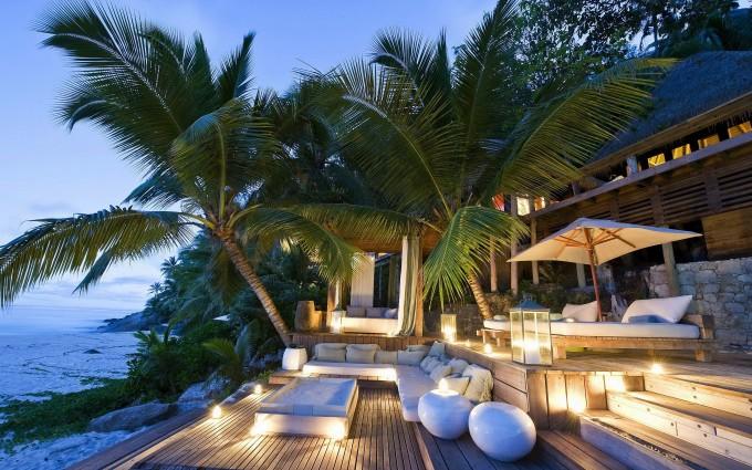 beach resort lovely