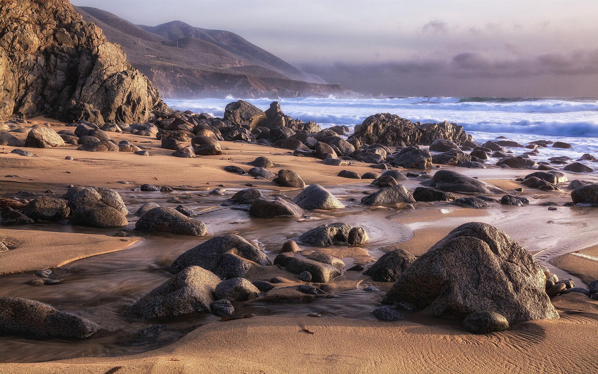 beach rock wallpaper