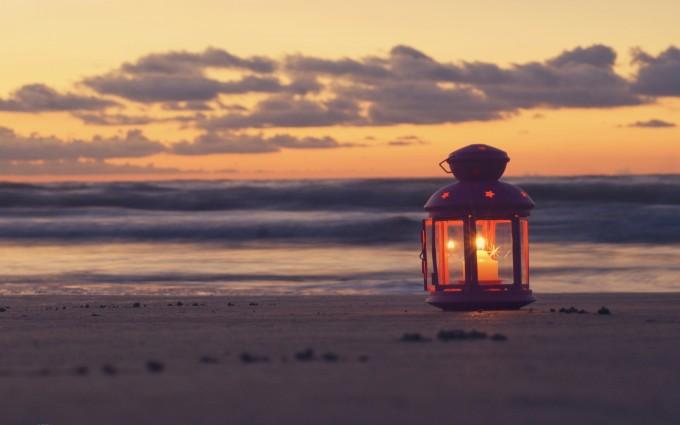 beach sunset wallpaper hd