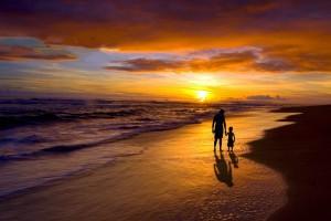 beautiful sunset wallpaper dad
