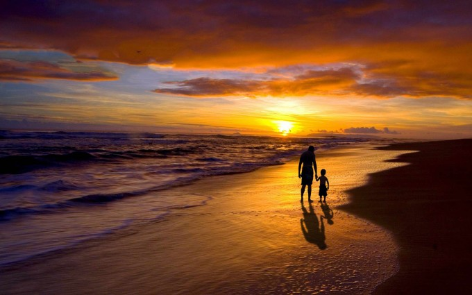 beautiful sunset wallpaper dad