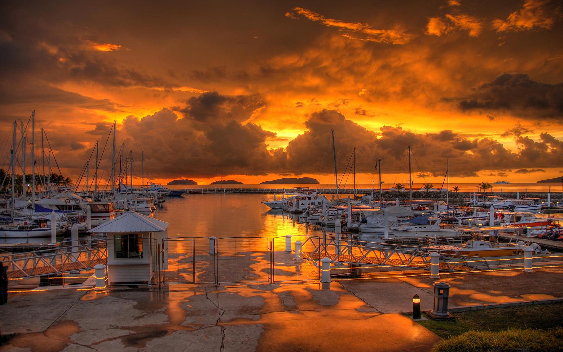 beautiful sunset wallpaper hd