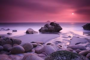 beautiful sunset wallpaper pink
