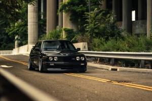 bmw e30 black