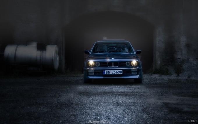 bmw e30 dark blue image