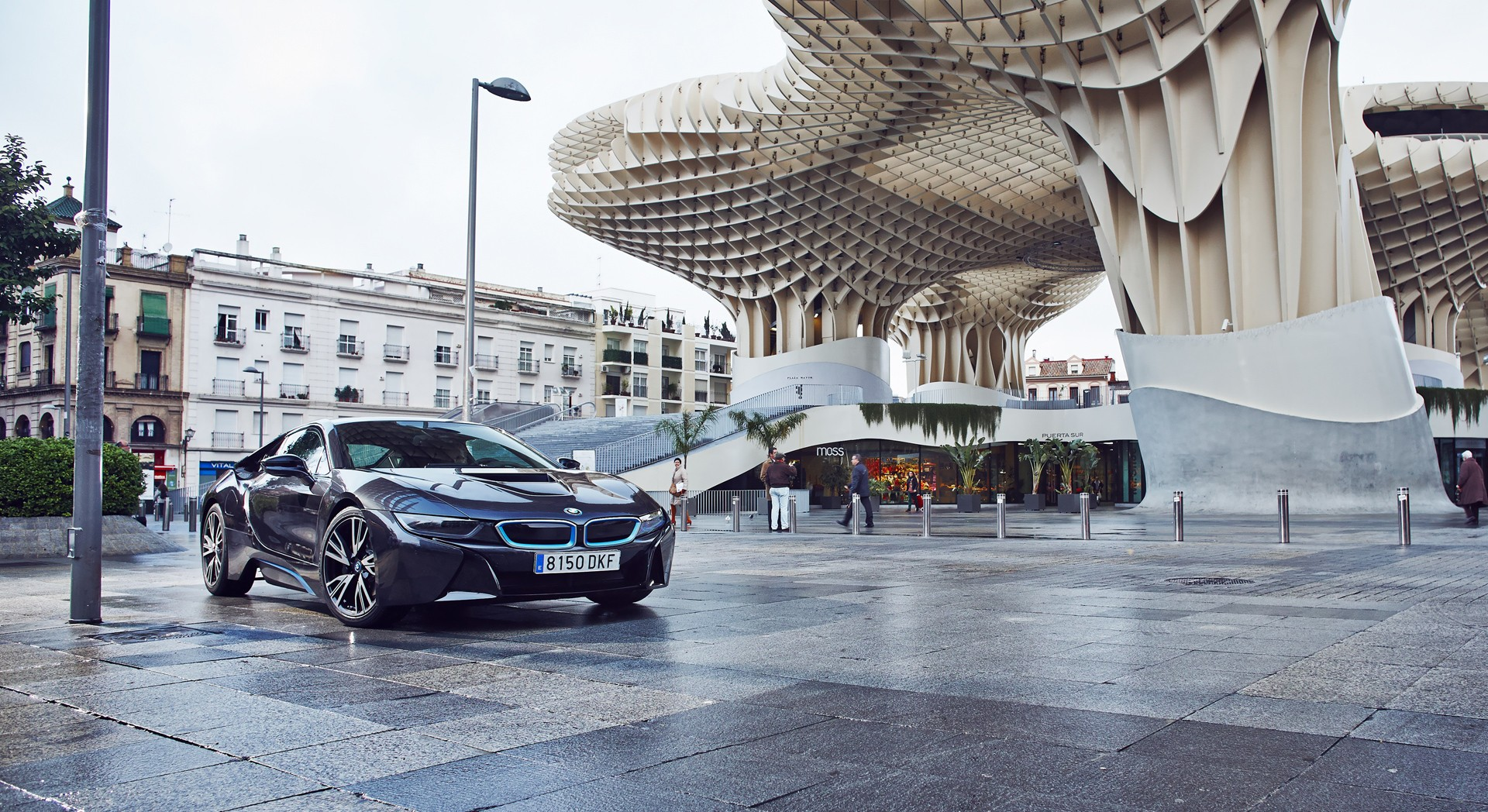 bmw i8 city cpp;