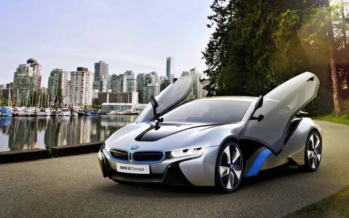 bmw i8 city hd