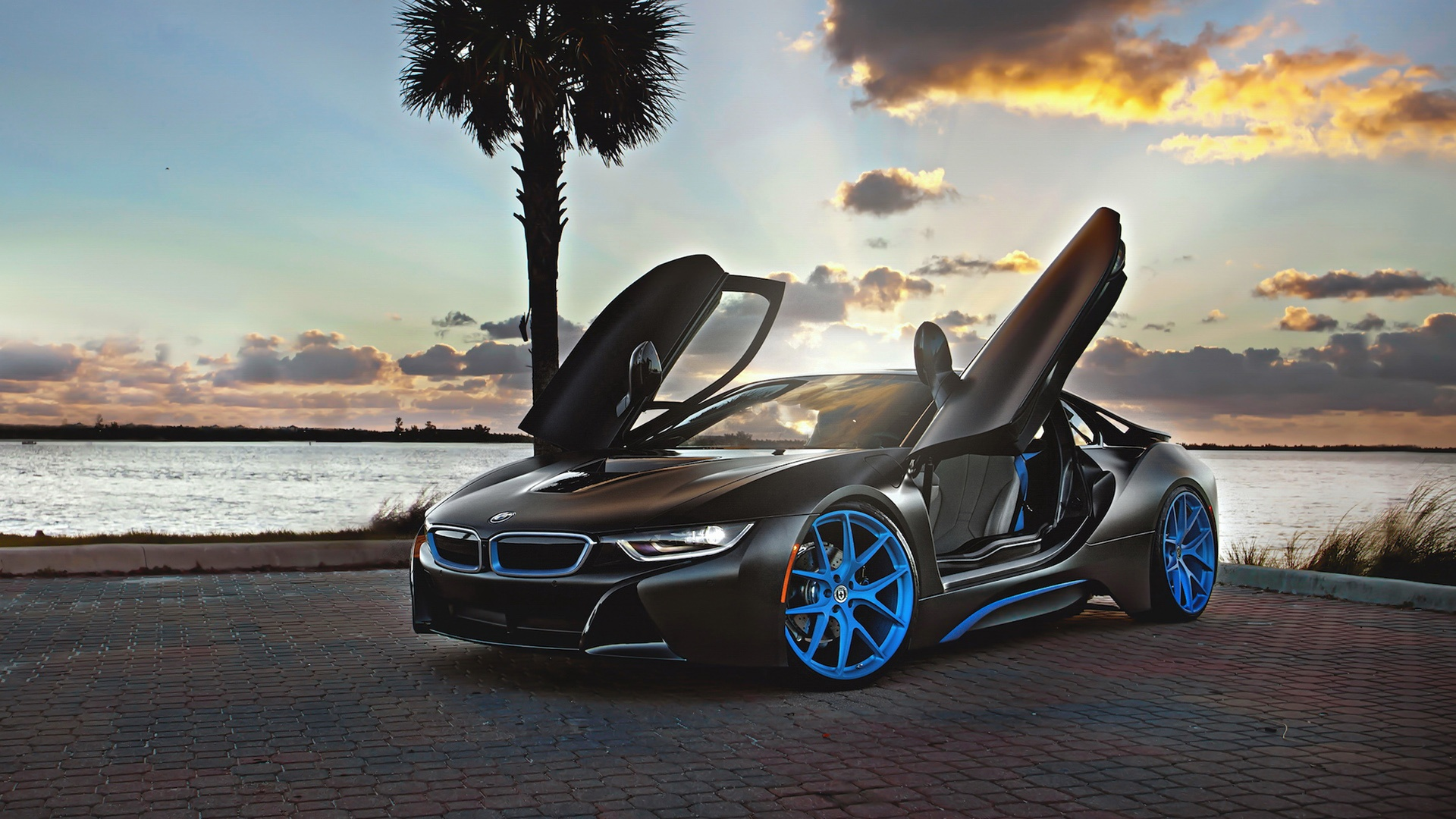 Bmw I8 Wheels Hd Desktop Wallpapers 4k Hd