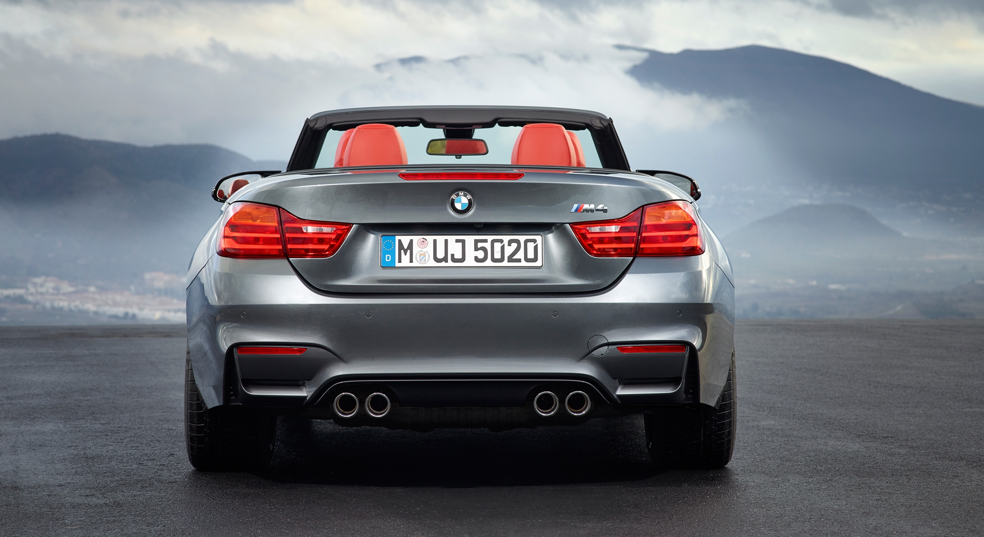bmw m4 cabrio back hd desktop wallpapers 4k hd. Black Bedroom Furniture Sets. Home Design Ideas