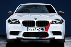 bmw m5 white car front
