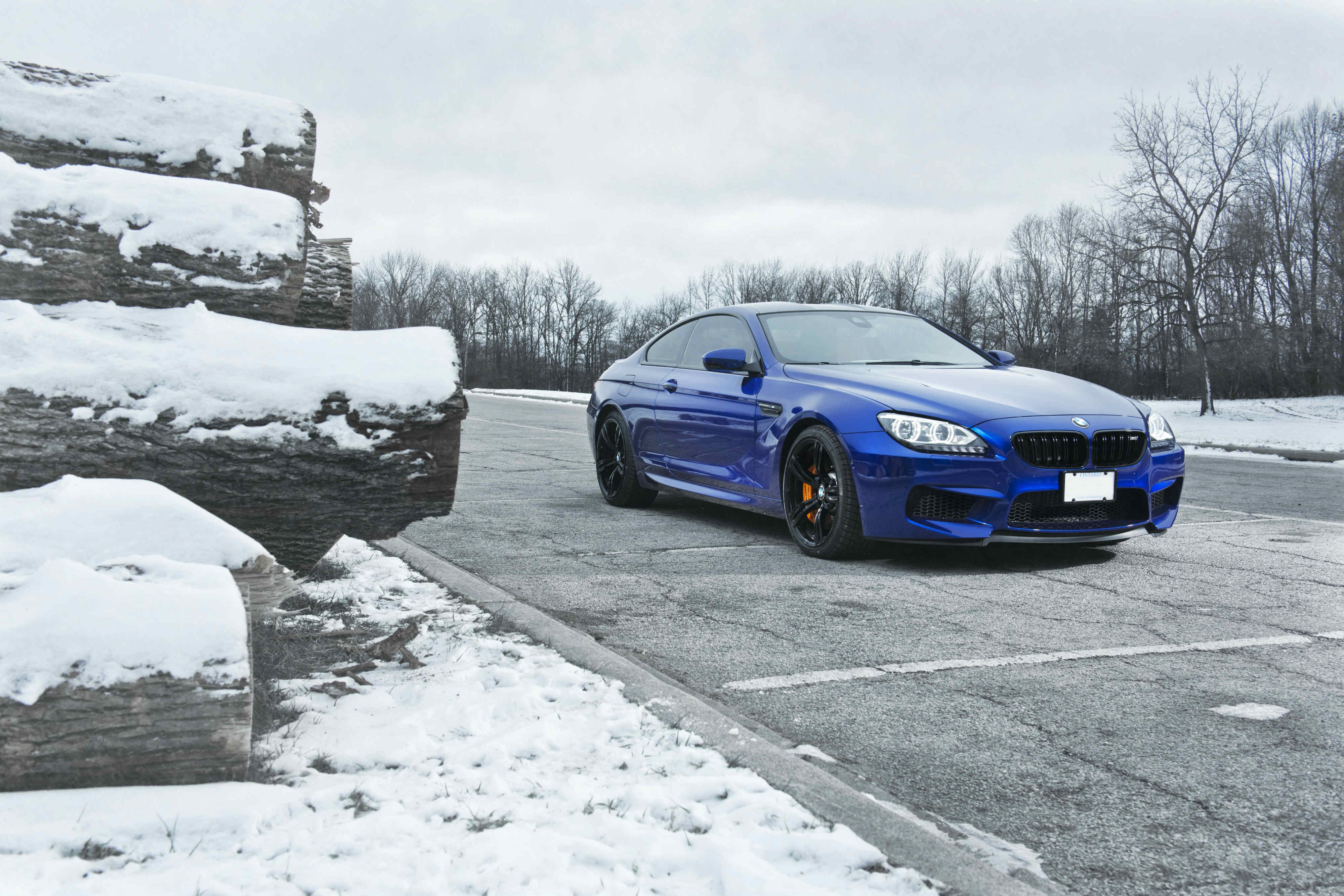 bmw m6 blue wallpaper