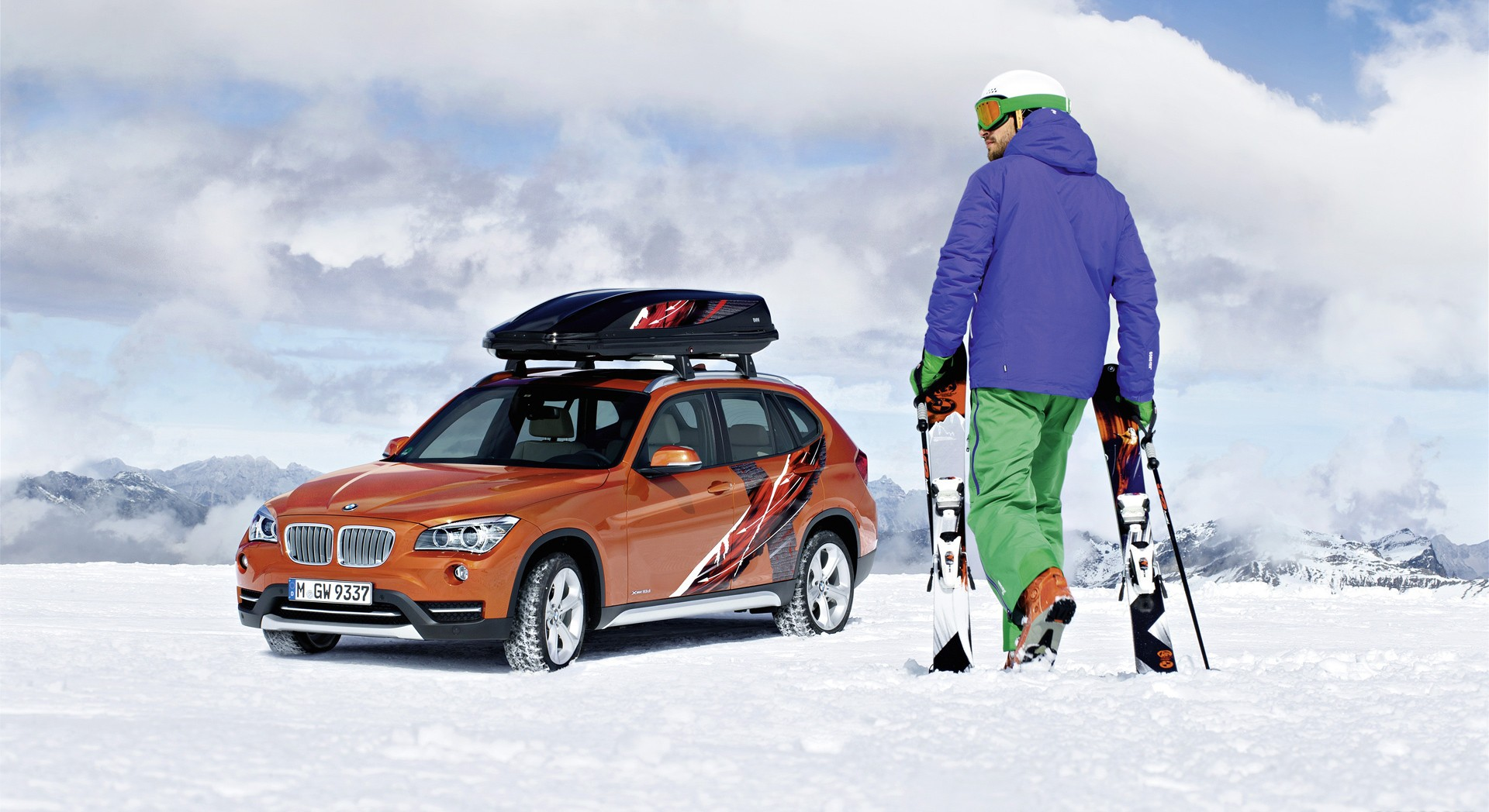 bmw x1 edition powder ride download