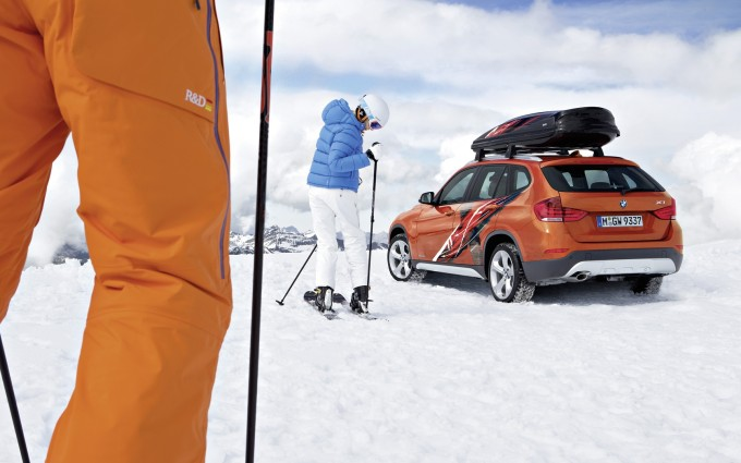 bmw x1 edition powder ride picture