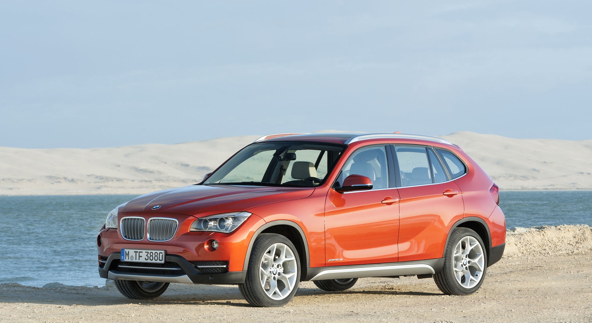 bmw x1 front