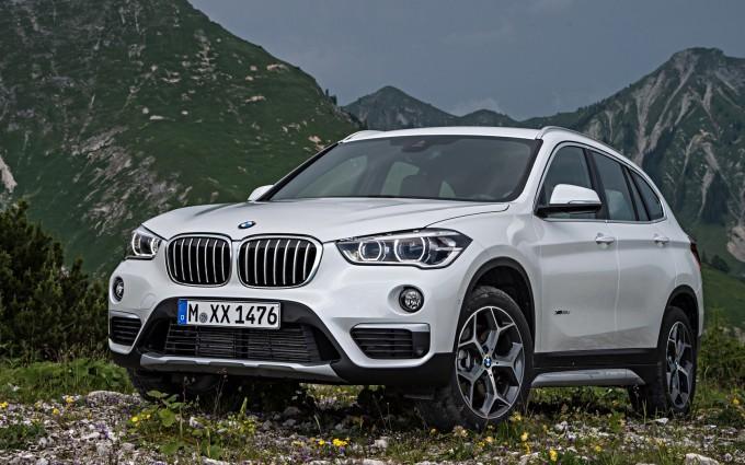 bmw x1 white car pic