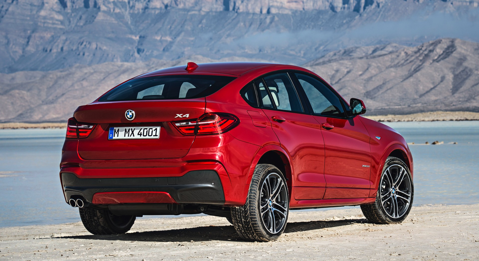 bmw x4 red sale