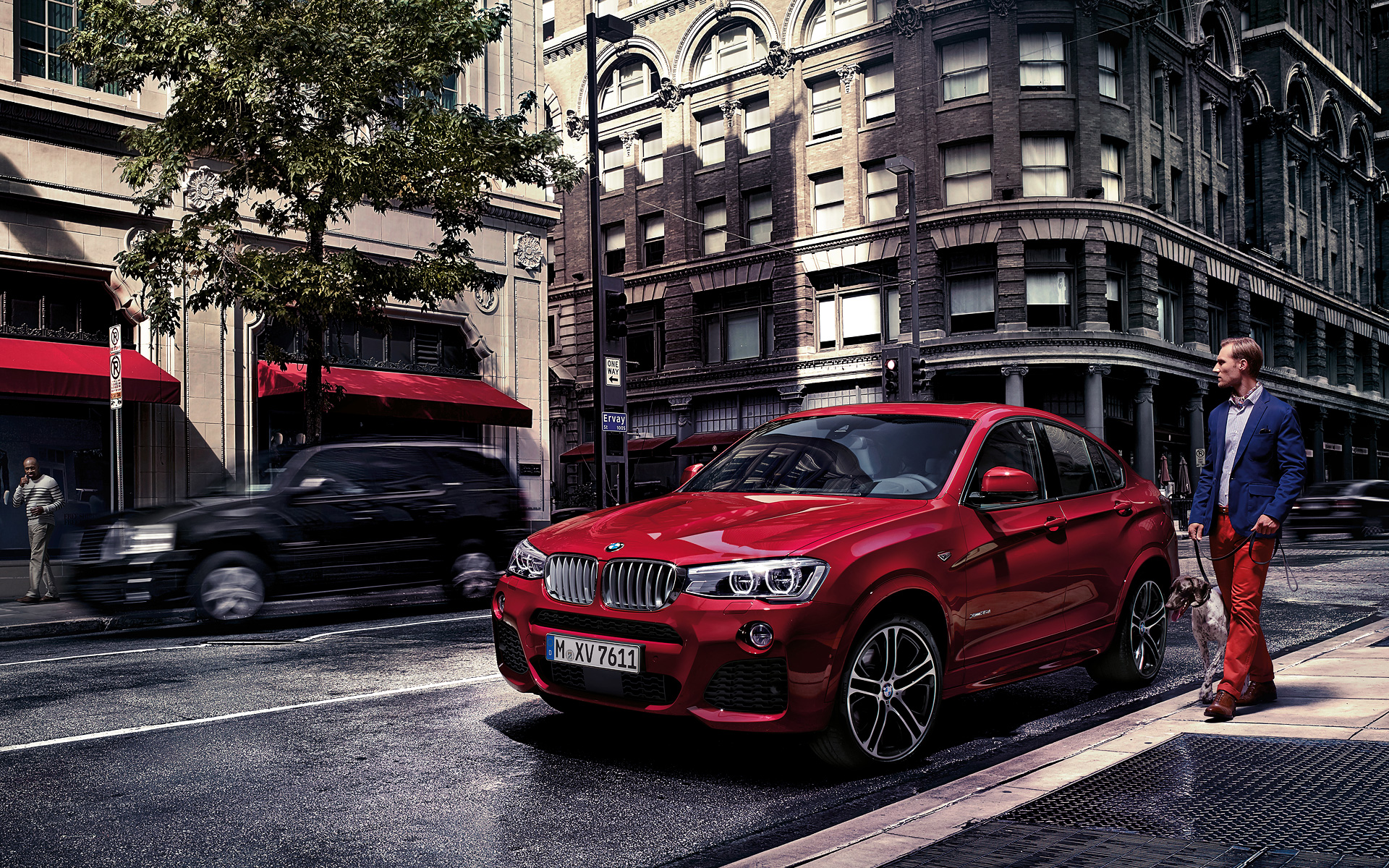 bmw x4 widescreen
