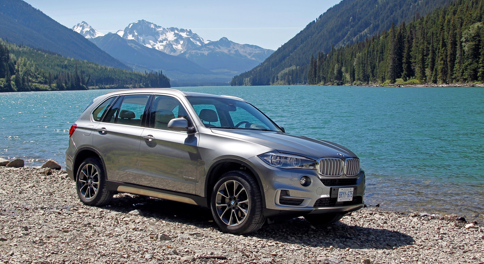 bmw x5 grey nature