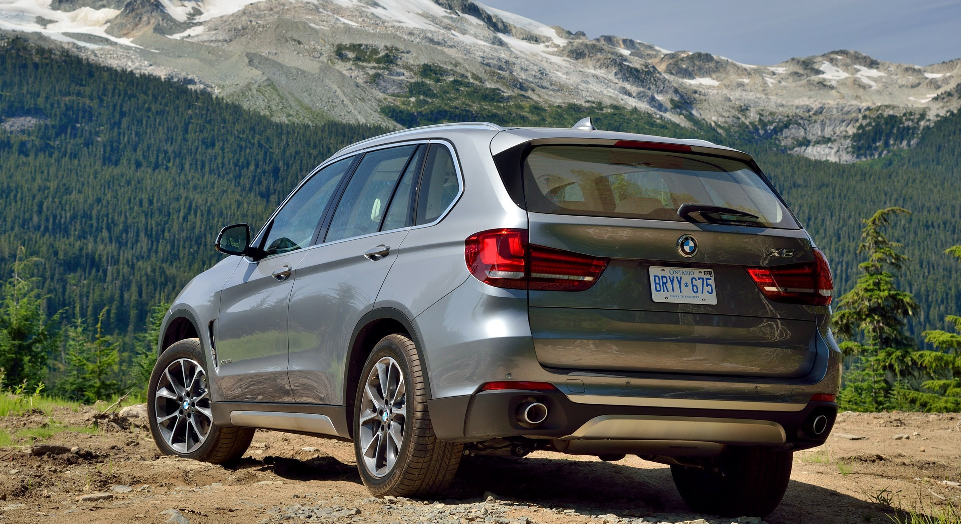 bmw x5 grey rear